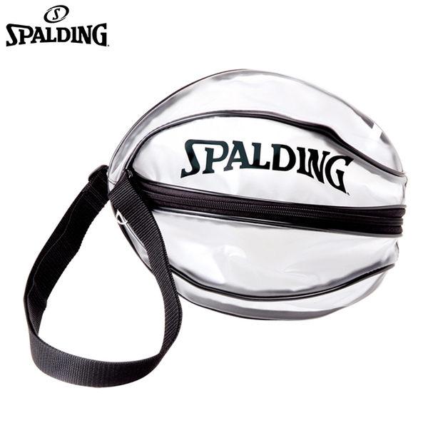 【LAKEIN運動網】║SPALDING║單顆裝籃球瓢蟲袋(黑)