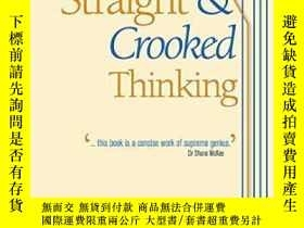 二手書博民逛書店Straight罕見& Crooked Thinking-正反思維Y436638 Robert Henry T