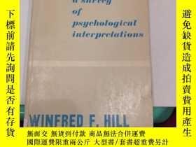 二手書博民逛書店learning罕見a survey of psychological interpretations(V102)