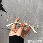 眼鏡眼鏡框架女時尚韓版眼睛框可配鏡片素顏神器復古防藍光平光鏡 衣間