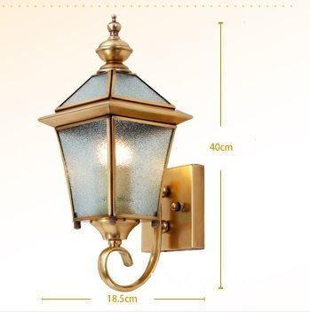 戶外庭院壁燈 全銅 防水 裝陽台/室外