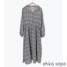 「Hot item」滿版碎花圖案襯衫式連身洋裝 (提醒 SM2僅單一尺寸) - Sm2