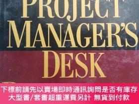 二手書博民逛書店The罕見PROJECT MANAGER S DESK REFERENCEY153720 JAMES P.LE