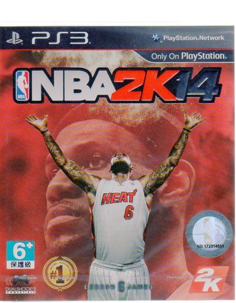 【玩樂小熊】現貨中 PS3 遊戲 美國職業籃球 NBA 2K14 (中文亞版)