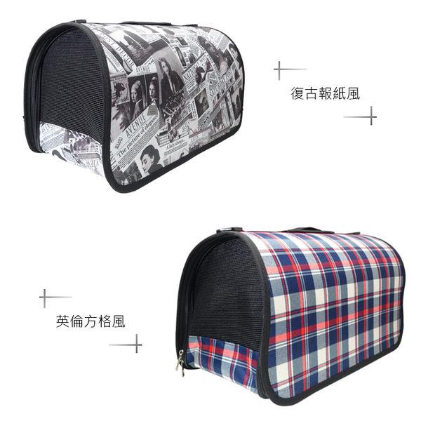 ※寵愛款 精品側開式寵物外出包(可折疊) 摺疊 寵物包 寵物提袋 貓狗犬 單肩包 提籃 外出袋 背包