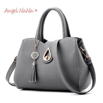 手提包。水滴轉釦  立體 氣質 手提包 女斜背包(SBA0173)AngelNaNa