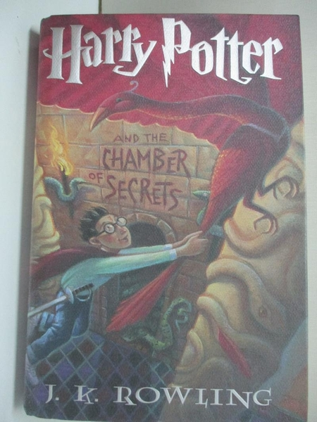 【書寶二手書T1/一般小說_KFS】Harry Potter and the Chamber of Secrets_J.K. Rowling