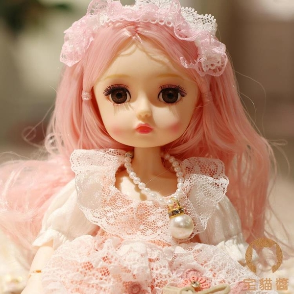 芭比洋娃娃仿真換裝娃娃公主兒童玩具套裝【宅貓醬】