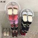 鞋架簡易鞋架家用鐵藝多層拖鞋架門口窄鞋櫃簡約小鞋架子省空間收納架【快速出貨八折下殺】
