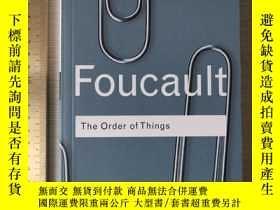 二手書博民逛書店Foucault罕見the order of things history of philosophyY324