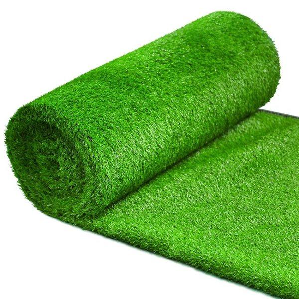 草坪 仿真草坪人造地毯塑料足球場假草皮人工室內陽台防真裝飾綠色墊子 米蘭街頭IGO