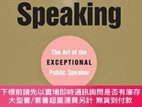 二手書博民逛書店Power罕見Speaking Art Of Exceptional Public SpeakerY25517