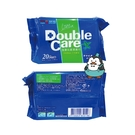 康乃馨 Double Care 加護抗菌潔膚巾 20抽