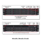 Lenovo ThinkSystem SR650 7X06W2NR00 2U機架式伺服器【Intel Xeon Silver 4214 / 16GB / Raid 930-8i + 2G】(2.5吋)