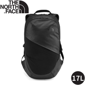 【The North Face 17L女單日休閒包《黑》】3KY9/雙肩背包/通勤背包/旅行背包