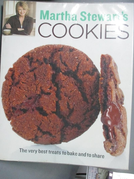 【書寶二手書T6/餐飲_WFZ】Martha Stewart's Cookies: The Very Best Trea