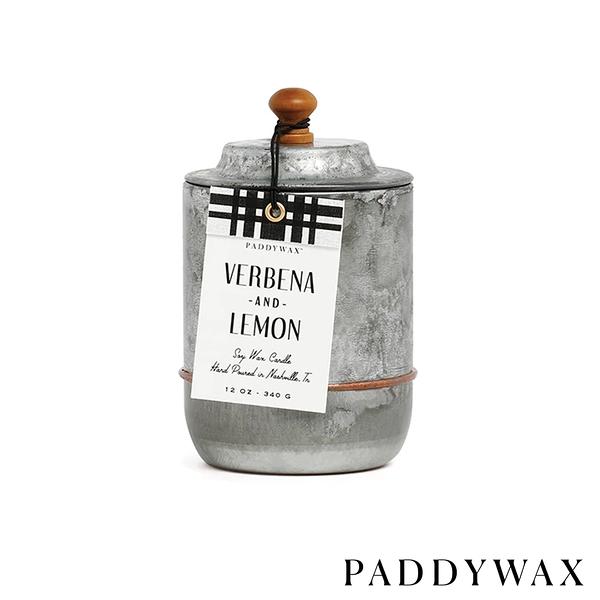 PADDYWAX 檸檬馬鞭草 Verbena & Lemon 340g Homestead系列 美國香氛 蠟燭