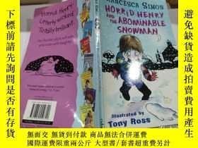 二手書博民逛書店horrid罕見henry and the abominable snowman:可怕的亨利和可惡的雪人Y21