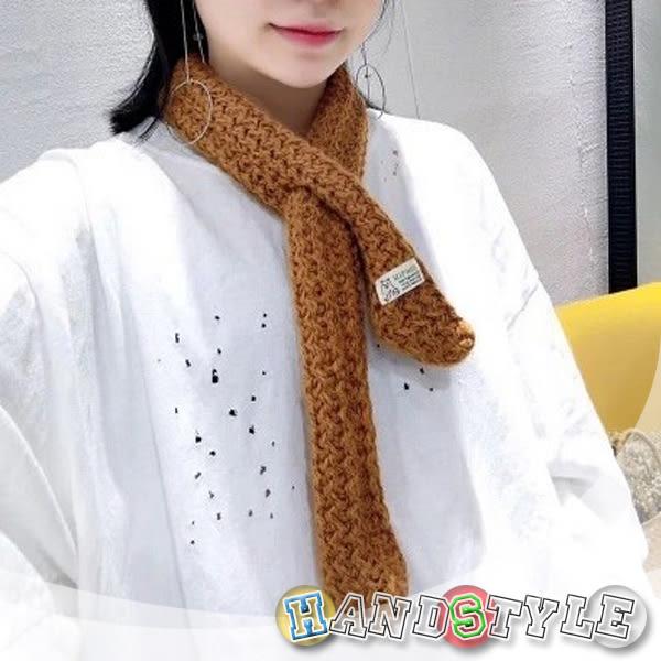 森林系創新設計針織保暖小圍巾 【068868】韓飾代【HandStyle】