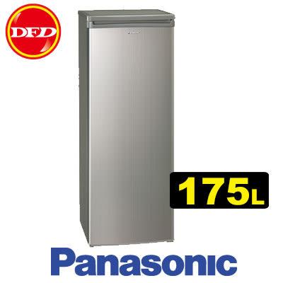PANASONIC 國際牌 NR-FZ188 冷凍櫃 銀色 175L 直式 公司貨 ※運費另計(需加購)