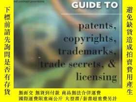 二手書博民逛書店Entrepreneur s罕見Guide To Patents