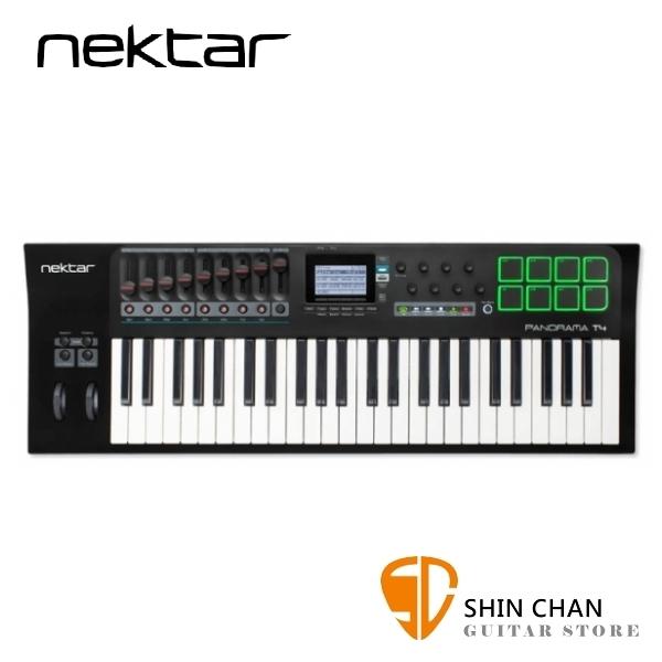 Nektar Panorama T4 主控鍵盤/MIDI鍵盤 49鍵/49key(原廠公司貨/一年保固)附打擊版功能