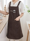 圍裙 家用廚房做飯圍裙純棉雙層防污防油工作圍裙男女成人上班罩衣圍腰 寶貝計畫 618狂歡