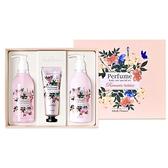 韓國 Medi Flower 身體護理香氛禮盒(沐浴乳300ml+乳液300ml+護手霜80g) 款式可選【小三美日】