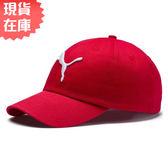 ★現貨在庫★ PUMA 基本系列 老帽 棒球帽 帽子 紅【運動世界】 05291983