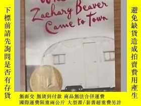 二手書博民逛書店原版When罕見Zachary Beaver Came to T