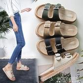 厚底鞋 厚底涼拖鞋女外穿2020新款夏季沙灘涼鞋時尚百搭一字拖懶人鬆糕鞋 polygirl