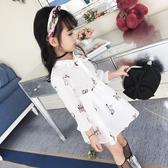 童裝小女孩裙子2019新款韓版兒童春裝打底裙寶寶公主裙女童連衣裙