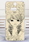 ♥ 俏魔女美人館 ♥ HTC Butterfly 2{ 花朵女孩*水晶硬殼 }手機殼 手機套 保護殼 保護套