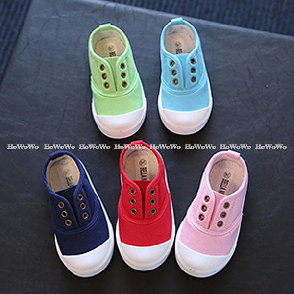 超低折扣NG商品~寶寶鞋 休閒學步鞋/中童鞋 板鞋(15.5-18cm) KL09 好娃娃