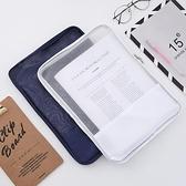 【買一送一】文件袋拉鏈檔案袋資料袋試卷收納夾【極簡生活】