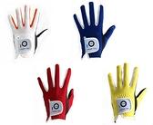 高爾夫兒童彩虹手套 雙手透氣 耐磨 防滑 舒適青少年GOLF手套  快意購物網
