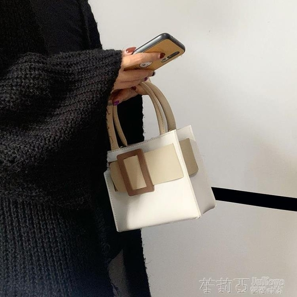 手提包 包包女小眾設計奶油蛋糕托特包手提包小包包斜挎包女包新款2020潮 茱莉亞