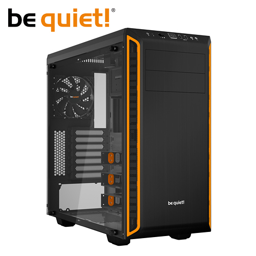 be quiet! Pure Base 600 Window Orange ATX/M-ATX/Mini-ITX (橘黑透側) 機殼