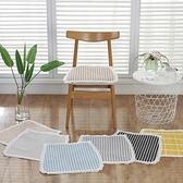 冬季透氣棉麻墊餐椅墊學生椅墊辦公室椅墊屁墊棉線墊裝飾墊花邊 創意空間