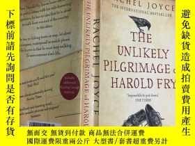 二手書博民逛書店The罕見Unlikely Pilgrimage of Harold Fry 一個人的朝聖 32開本Y2589