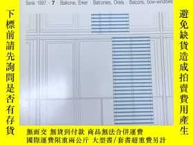 二手書博民逛書店德語原版Detail建築細部雜誌,1997年7月,主題:罕見陽臺