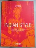 【書寶二手書T1/藝術_JGD】Indian Style: Landscapes Houses Interiors…