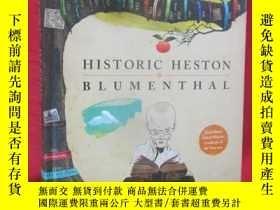 二手書博民逛書店Historic罕見Heston Blumenthal (大16
