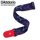 小叮噹的店 - D'Addario 吉他背帶 星星旗幟 P20W1503 Planet Waves