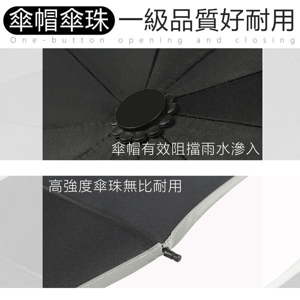 【樂邦】反光反向三折摺疊雨傘 夜間反光條 反向內折 三折 晴雨傘 自動傘