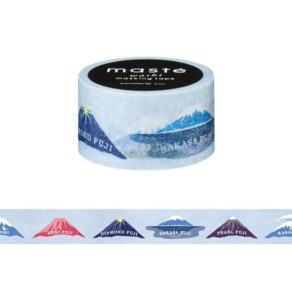 紙膠帶 SEIO 日本官方授權 Masté 日本製 和紙 紙膠帶 Japanese Mt. Fuji  經典富士山