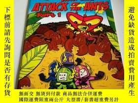 二手書博民逛書店ATTACK罕見OF THE ANTS part 1(英文)Y2