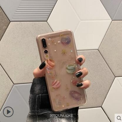 華為 Nova 3 3i 3e Nova 4 手機殼 軟硅膠 個性 閃粉 星空 透明 全包邊 防摔 宇宙星空 保護殼 創意