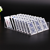 透明壓克力水晶盤名片會員卡銀行卡片身份證件收納展示盒