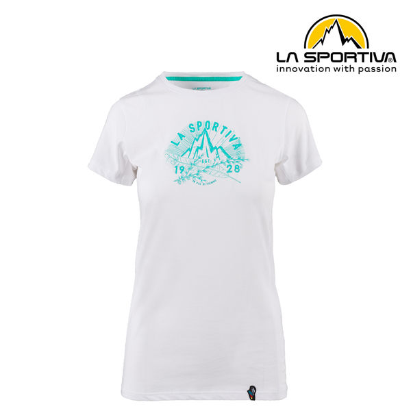 【義大利 LA SPORTIVA】Hipster T-Shirt 透氣短袖上衣 女款 白色 #O04000000